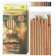 12 Colors Soft Pastel Pencils Skin Tints  Colored Pencils Art Drawing Sketch