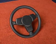 Porsche 911 turbo 930 Fatty Thick Grip Black Leather Steering Wheel RSR Lenkrad