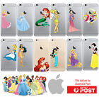 iPhone Clear Hard Shell Cover Case Disney Princess Little Mermaid - Coverlads