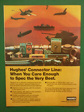 6/1985 PUB HUGHES AIRCRAFT CONNECTING DEVICES HI-DENSITY MILITARY CONNECTOR  AD