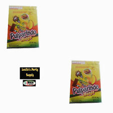 De La Rosa Pulparindo 2x20 Mango Flavor Fruit Pulp Candy 10-oz each box