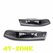 For 2000-2005 Chevrolet Impala Clear Lens Chrome Housing Fog Lights Lamps Kit