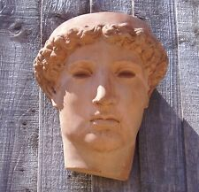 Stone Apollo Head Garden Wall Planter