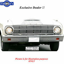62-63 Falcon Ranchero Chrome FRONT Bumper Brand New Tooling