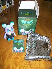 """Disney Vinylmation Villains #1 Ursula 3""""  W/Box & Card Sold Out Retired"""