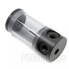 Obsidian Cylinder Reservoir Water Tank G1/4 T 50mm x 110mm For PC Liquid Cooling