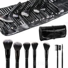 Fashion Professional 32 Piece Kabuki Make Up Brush Set and Cosmetic Brushes Case