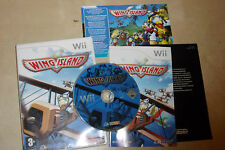 NINTENDO Wii GAME WING ISLAND +BOX & INSTRUCTIONS COMPLETE PAL