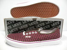 VANS AUTHENTIC LX LOW MELISSA MEN SHOES COFFEE/PURPLE VN-OEFTXJ4 SIZE 10 NEW