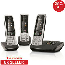 Siemens Gigaset C430A Trio DECT Cordless Phone with Answerphone