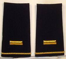 US Army 2nd LT Epaulet Soft Shoulder Boards Large Size for Dress Blues