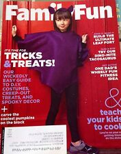 Family Fun Magazine October 2014 DIY Costumes! Teach your kids to Cook!