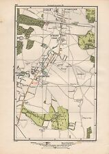 1923 LONDON STREET MAP -  ST PAUL'S CRAY, ST MARY'S CRAY,ORPINGTON