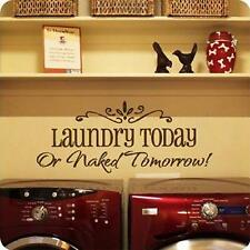 Fashion Laundry Today DIY Art Wall Sticker Decor For Home Living Room