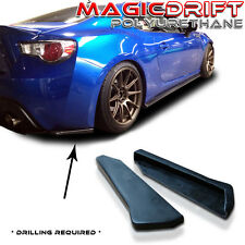 13-16 Scion FRS Subaru BRZ CS Bottom Line Style Rear Side Aprons Valences Spats