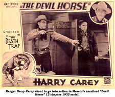 The Devil Horse - Classic Cliffhanger Serial Movie DVD Harry Carey