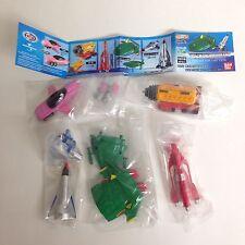 Thunderbirds Mecha Selection HG Gashapon figure Full Set of 5 Bandai Japan