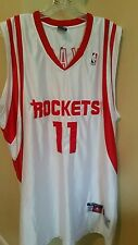 YAO MING #11 HOUSTON ROCKETS CHAMPION AUTHENTIC JERSEY SIZE MENS 52