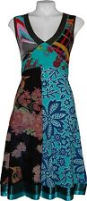 DESIGUAL Women's Multi  Dress Size S Sleveless