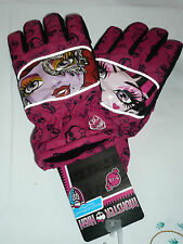Gants de ski Monster High rose