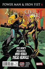 POWER MAN AND IRON FIST #6 (2016) 1ST PRINTING  CW2