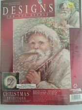 """COUNTED CROSS STITCH KIT """"GRANDFATHER FROST"""" BY LEISURE ARTS"""