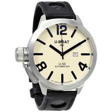 U-Boat U-53 Automatic Beige Dial Mens Watch 314