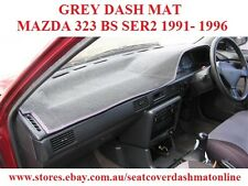DASH MAT, DASHMAT, DASHBOARD COVER FIT  MAZDA 323 BG SERIES 2  1989-1996, GREY