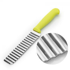 Vegetable Crinkle Potato Chip Slicer Stainless Steel Blade Wavy Cutter
