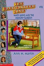 Mary Anne and the Memory Garden (Baby-Sitters Club)