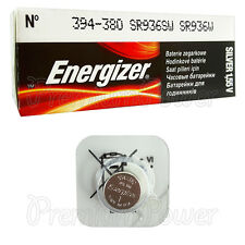 1 x Energizer Silver Oxide 394 380 battery 1.55V SR45 SR936SW Watch EXP:2020
