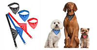 Adjustable Dog Puppy Bandanna Fashion Scarf Collar  - Available in 4 Colours