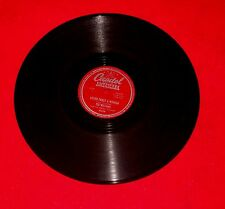EX 40s Capitol Americana TEX WILLIAMS 78 Never Trust A Woman means to be blue