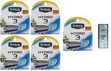 Schick Hydro 3 Refill Blades, 20 Cartridges (Unboxed) + Free LovingCare Packet
