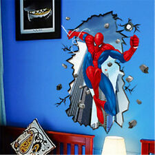Spider Man Super Hero 3D Wall Sticker Removable Vinyl Art Mural Decal Home Decor