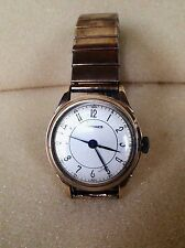 Vintage Longines 9ct gold men's watch