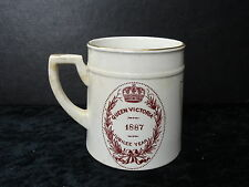 Queen Victoria 1887 Jubilee Commemorative Mug, with Ramsey Crest/Mayor Purchase