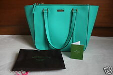 Kate Spade Bag WKRU2100 Newbury Lane Briar Saffiano Leather Brightberl Agsbeagle