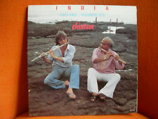 VINYL 33T – CHRIS HINZE + RAGHUNATH SETH : INDIA CHINTAN – JAZZ FOLK – 1983