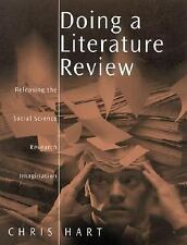 Doing a Literature Review: Releasing the Social Science Research Imagination (Pu