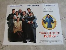 BLAME IT ON THE BELLBOY poster DUDLEY MOORE poster, RICHARD GRIFFITHS poster