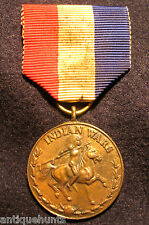 1860 to 1895 Indian Wars Award for Service Medal