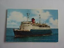 British Rail Channel Islands Steamer Postcard