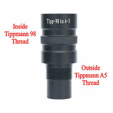 New Paintball Barrel Adapter - Tippmann 98 to Tippmann A5, Tippmann X7, BT-4