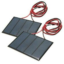 2pcs 1.5W 12V Solar Panel Small Cell Module Epoxy Charger