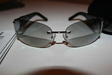 Very Good USED Women's Lancetti LL3661 Blackframe Rhinestones Sunglasses
