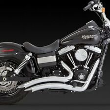 2012-2017 HARLEY DYNA/ FAT/STREET BOB Big Radius Exhaust VANCE AND HINES 26061
