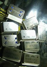 10  x crystal oscillator 15.9744Mhz TEW CK1100AC 15974.40Khz 4 pin