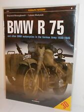 Kagero Photosniper 6 - BMW R75 & BMW Motorcycles, German Army 1930-45. (Book)