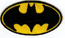 BATMAN LOGO--DC COMICS- Iron On  Embroidered Patch/TV, Movie,Cartoons,Justice